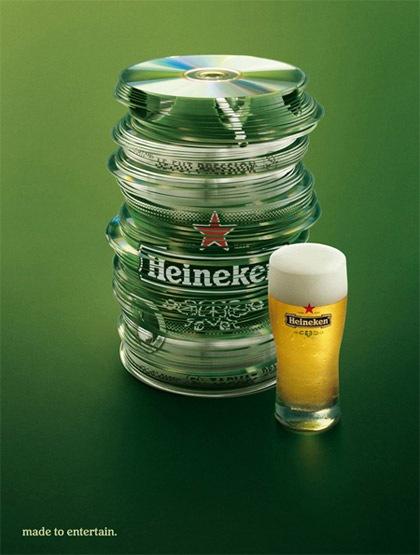 Heineken Креативная реклама.