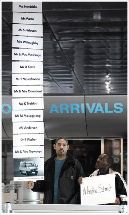 Arrivals Креативная реклама