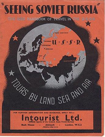 Seeing Soviet Russia Intourist Советская реклама