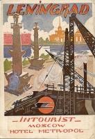 Leningrad. Intourist Советская реклама