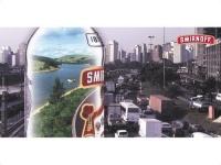 Принт рекламной компании Smirnoff в S?o Paulo проходившей в 1997 году.
