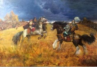 В галерее «Батальной живописи» иллюстрировали «Хроники Ливонии»